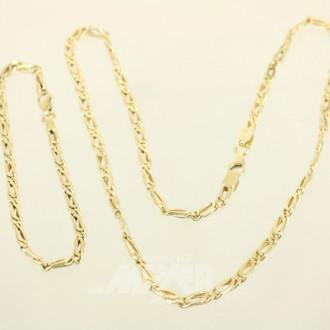 Glieder-Halskette mit passendem