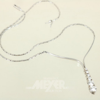 Collier-Kette, 585er WG, ca. 8 g.,