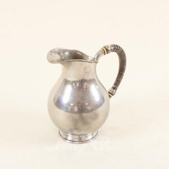 Milchkännchen, Silber, ca. 330 g.