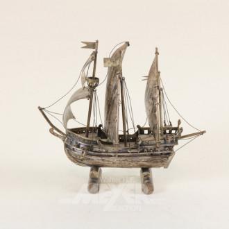 Modellschiff ''St. Maria'', Silber