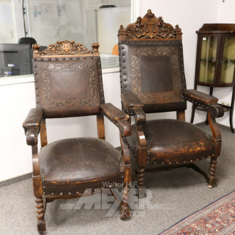 Paar Bürgermeisterstühle