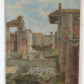 2 Gemälde ''Ortsansichten ''