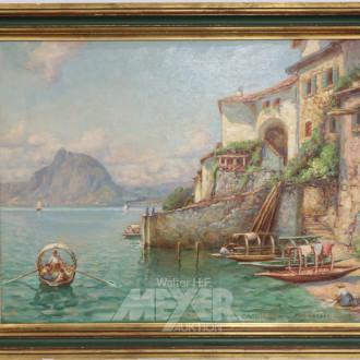 Gemälde, ''Luganer See'',