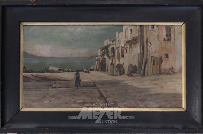 Gemälde ''Dorfansicht'' unsigniert