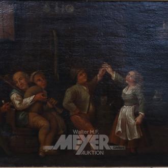 Gemälde ''Bauerntanz''