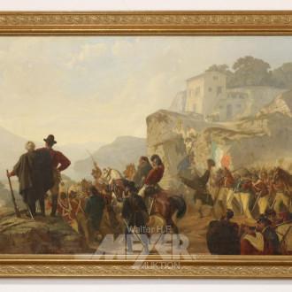 Gemälde ''vermutl. Festung Ehrenbreit-