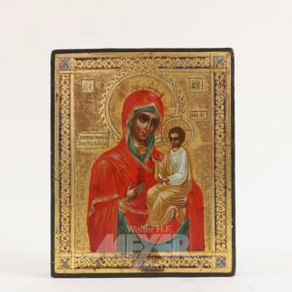 kl. Ikone ''Gottesmutter mit Kind''
