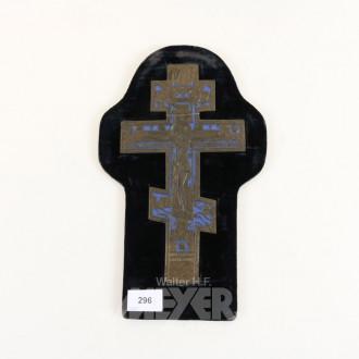Ikonen-Kreuz, Russland 19. Jh. mit