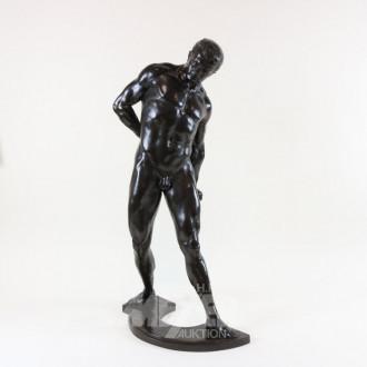 Bronze-Figur ''Gefangener''