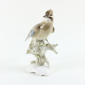 gr. Porzellan-Figur ''Specht''