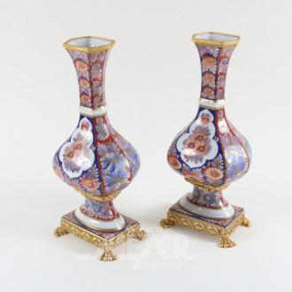 Paar Porz.-Vasen, LIMOGES