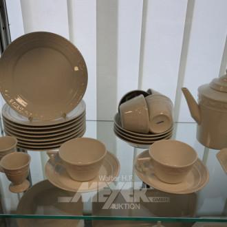 Porzellan-Speise- u. Kaffeeservice KPM,