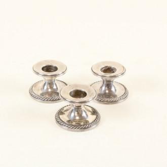 3 kl. Tischkerzenleuchter, 925er Silber