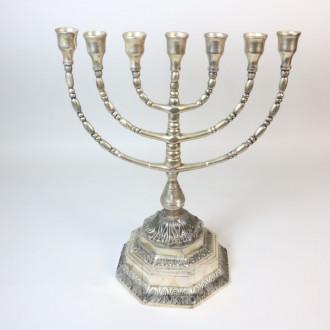 Chanukka-Leuchter, Metall