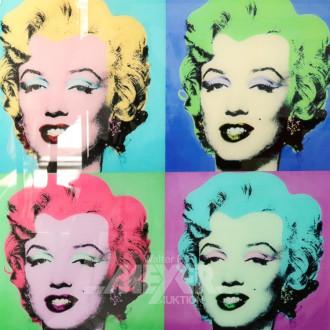mod. Bild nach Andy Warhol, ''MARYLIN'',