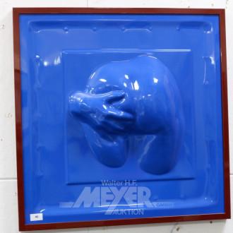 mod. Erotik Objekt, blau,