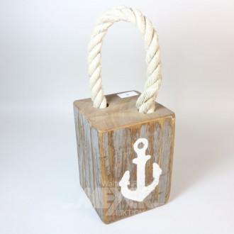 Türstopper, maritimes Dekor, Holz