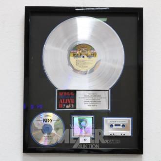 Schallplatte ''Platin'',