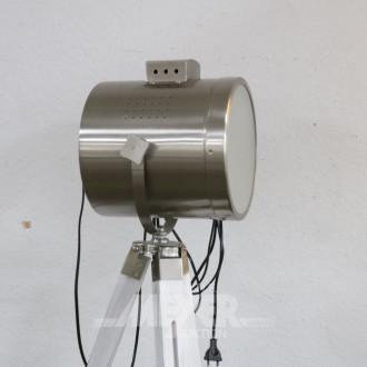 Stehlampe mit Stativ, Strahler-Form