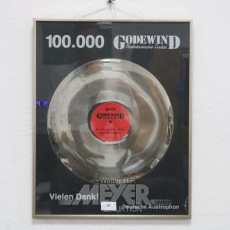 Platinschallplatte ''Godewind'',