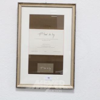 Bild / Auszeichnung ''Fleur de Lys'',