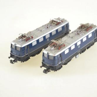 2 E-Loks, DB E41024, DB 141 005-9