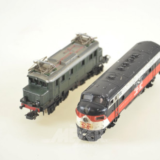 2 Loks, E und Diesel