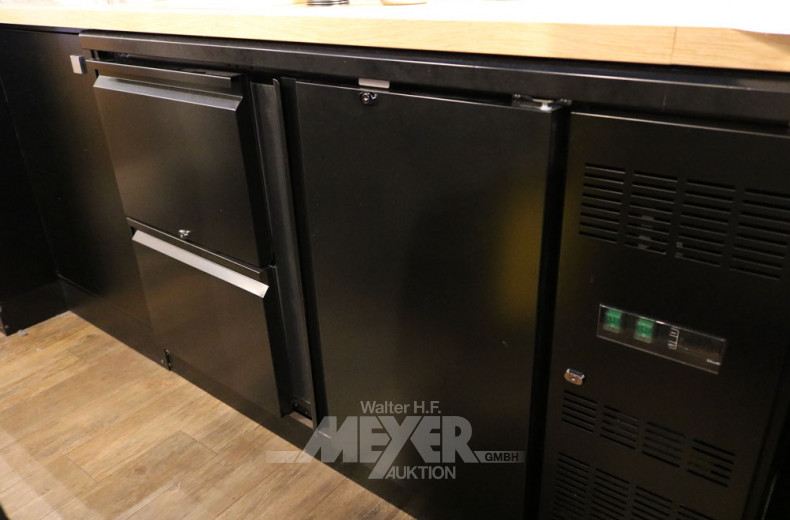 Unterbau-Barkühltisch 220