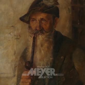 Geälde ''Portrait eines Bergbauern