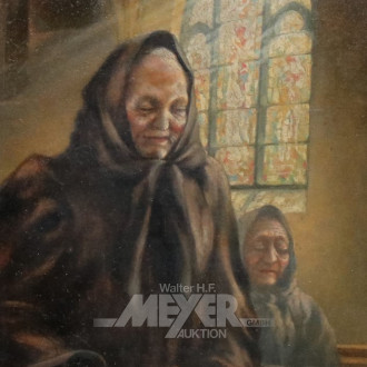 Gemälde ''Betende Frau''
