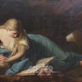 Gemälde ''Die lesende büßende Magdalena''