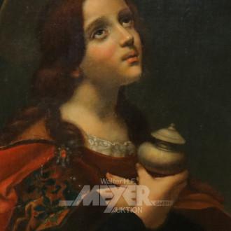 Gemälde ''Heilige mit Gefäß''