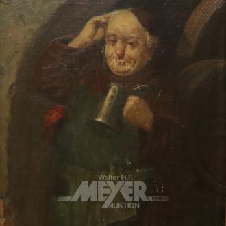Gemälde ''Mönch mit Bierkrug''