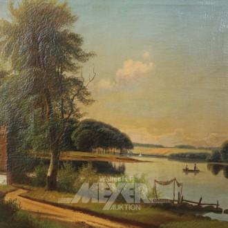 Gemälde ''Fischer auf See''