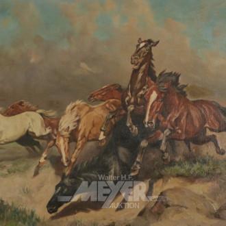 Gemälde ''Wildpferde''