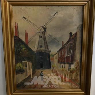 2 Gemälde/Gegenstücke ''Holländische