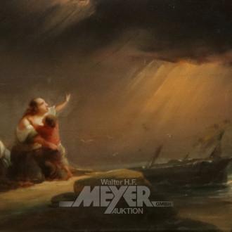 Gemälde ''Schiffbrüchige''