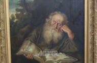 Gemälde ''Lesender Mann''