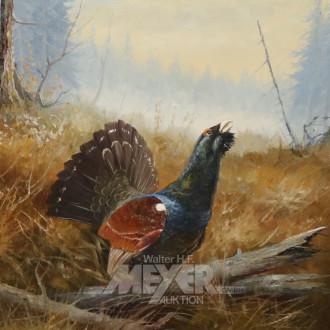 Gemälde ''Auerhahn''