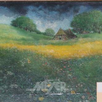kl. Gemälde ''In der Marsch''