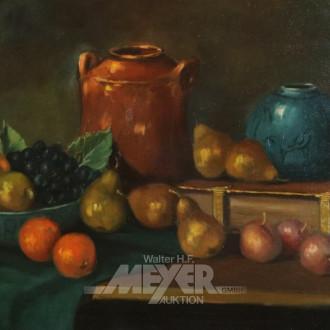 Gemälde ''Stillleben mit Obst''