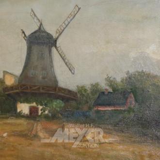Gemälde ''Windmühle''