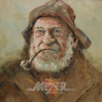Gemälde ''Portrait eines Helgoländer