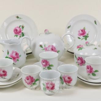 Teeservice, Meißen, Rosendekor