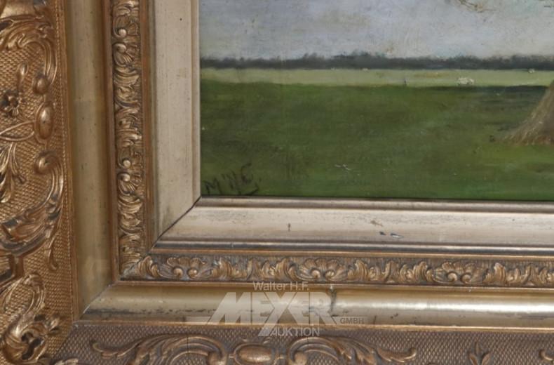 Gemälde ''Landschaft mit Bäumen''