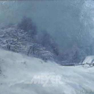 Gemälde ''Winterliche Landschaft''