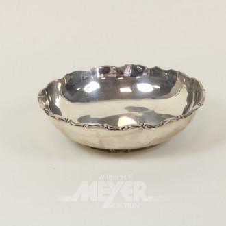 Konfektschale, 925er Sterling Silber