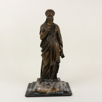 Bronze-Figur ''Die Lesende''