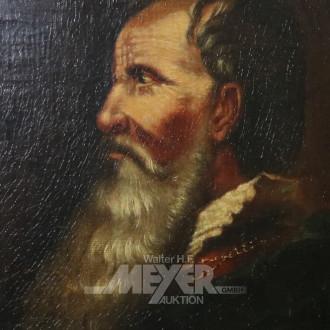 Gemälde ''Mann mit Bart''