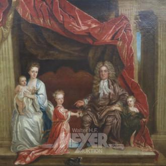 Gemälde ''Königsfamilie''